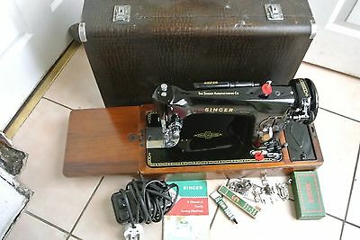 Singer SEMI- 201K Electric Sewing machine IDEAL FOR LEATHER, CANVAS,DENIM ETC