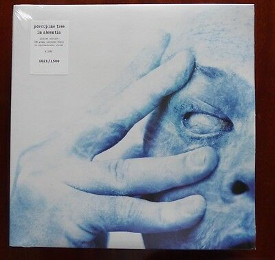 Porcupine Tree In Absentia ~ Limited Coloured (Blue) Marble Vinyl NEW SEALED