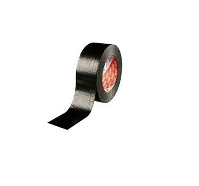 Black Duct Tape | Roll Of Cloth Tape | 48mm X 50m | DIY Book Binding Safety
