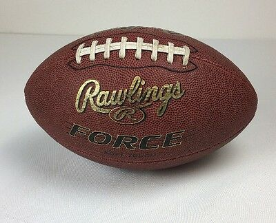 Official Rawlings Soft Touch American Football Composite Leather Ball