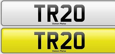 TR 20 Cherished Number Plate on retention