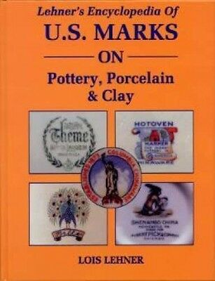Lehners U.S. Marks ID Book Pottery Porcelain 8000 Shown