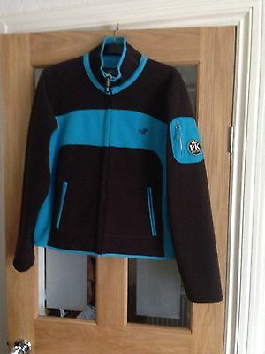 Ladies Jacket Brown and Turquoise PK equestrian