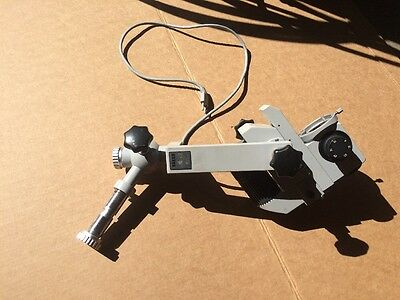 Carl Zeiss OPMI 1-S Surgical Microscope Arm Light And Lens