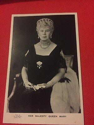 Vintage Real Photo Postcard - Her Majesty Queen Mary
