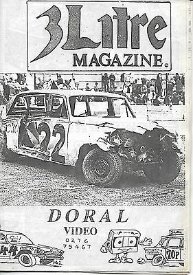 3 Litre. Banger Racing Magazine.  Issue No.44