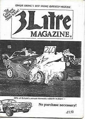 3 Litre. Banger Racing Magazine.  Issue No.85