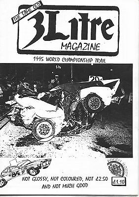 3 Litre. Banger Racing Magazine.  Issue No.84