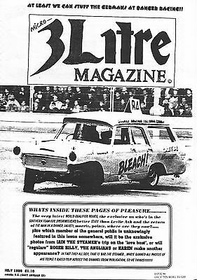 3 Litre. Banger Racing Magazine.  Issue No.90