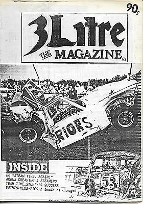 3 Litre. Banger Racing Magazine.  Issue No.53