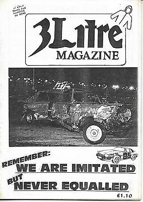 3 Litre. Banger Racing Magazine.  Issue No.86