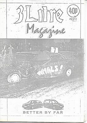 3 Litre. Banger Racing Magazine.  Issue No.29