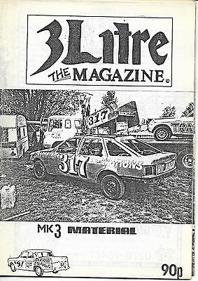 3 Litre. Banger Racing Magazine.  Issue No.51
