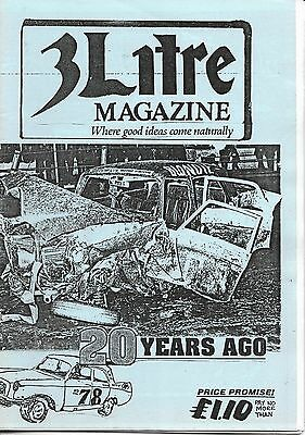 3 Litre. Banger Racing Magazine.  Issue No.78