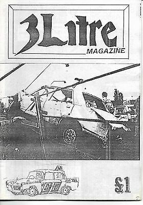 3 Litre. Banger Racing Magazine.  Issue No.60