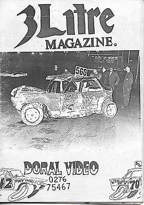 3 Litre. Banger Racing Magazine.  Issue No.42