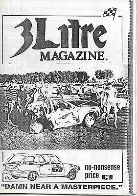 3 Litre. Banger Racing Magazine.  Issue No.67