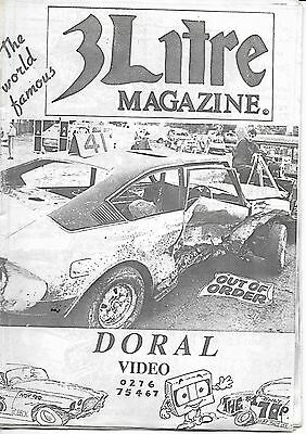 3 Litre. Banger Racing Magazine.  Issue No.46