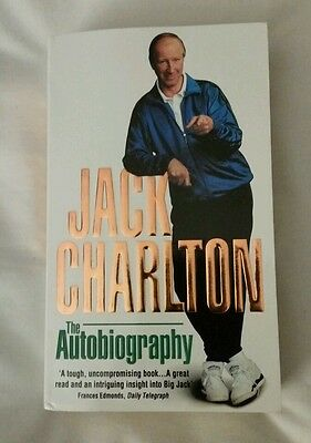 Jack Charlton 1966 world cup signed autobiography