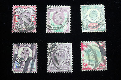 Lot of 6 Very Rare Great Britain  Postal  Postage Stamps  $20 + ea   GREAs003