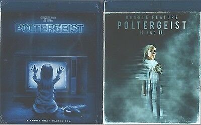 POLTERGEIST 1, 2- 3 (Trilogy) The Other Side- Great Classic Horror - NEW BLU RAY