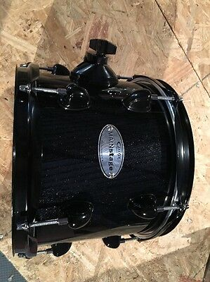 pdp Main stage 10 x 8 tom, black sparkle With Black