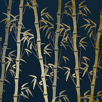 Bamboo  Stencil Template: Extra Large:  Wall Painting, Fabric Art:  ST50