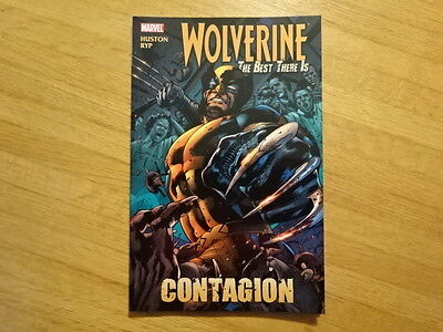 Rare Copy Of Wolverine: The Best There Is - Contagion Tpb Graphic Novel! Marvel!