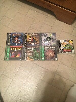 PS1 Game Lot (includes Monster Rancher 2)
