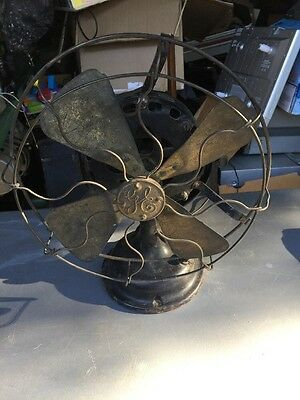Antique Ge Pancake Fan