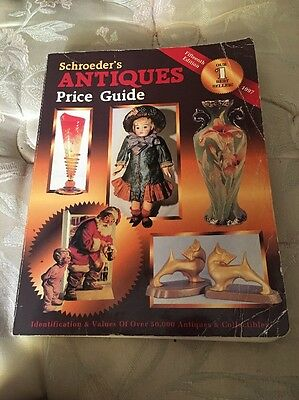 Book Schroeder's Antiques 15th  Edition Price Guide 1997