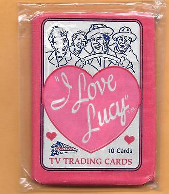 I Love Lucy Unopened Pack From 1991-10 Card Pack