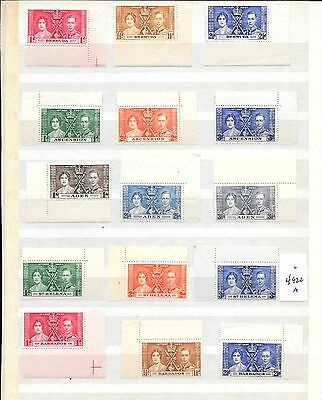 British Colonies Stamps Mnh (4922A/b)