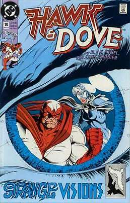 Hawk and Dove (1989 series) #10 in Near Mint - condition. FREE bag/board