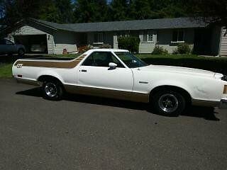 1979 Ford Ranchero GT FORD GT 351 123k original miles auto selling no reserve auction ! BUY IT NOW $ 5000