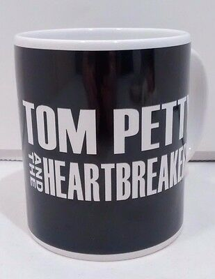 Tom Petty and the Heartbreakers Coffee Mug Ceramic Black & White Collectible