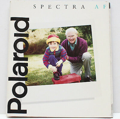 Polaroid Spectra AF Instant Film Camera Manual Instructions Guide