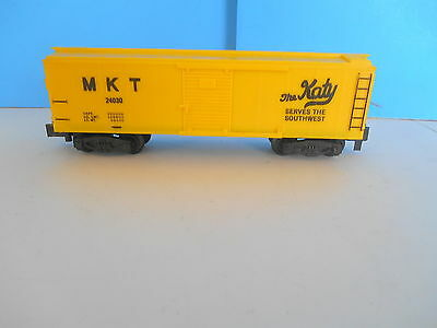 American Flyer S Gauge 24030 Mkt The Katy Unpainted Yellow Box Car