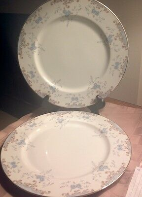 "2 VTG.  Imperial China W Dalton Seville 10 1/2"" Dinner Plates JAPAN #5303"