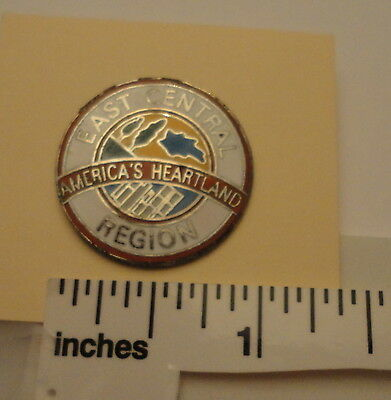 East Central Region Pin from BSA Limited Ed framed set