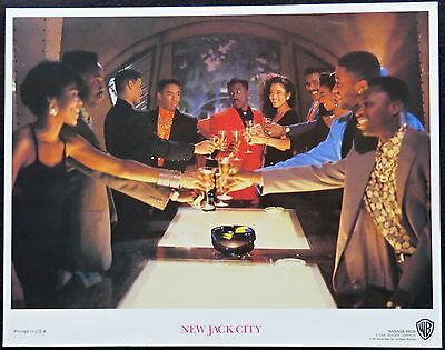 NEW JACK CITY .. LOBBY CARD ..11X14  From the 1991 Film