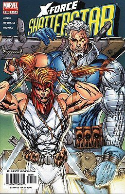 X-Force: Shatterstar #3 (Jun 2005, Marvel)