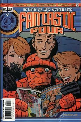 Marvels Comics: Fantastic Four #1 (Jul 2000, Marvel)