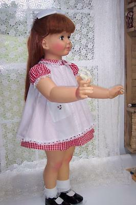 "35"" PATTI PLAYPAL DOLL with LONG RED HAIR BEAUTIFUL in REPLICA INAUGURAL DRESS"