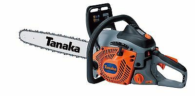 "Tanaka Gas Chainsaw, 20"" Bar & Chain, 50.1 cc, 3.5 HP - TCS51EAP"
