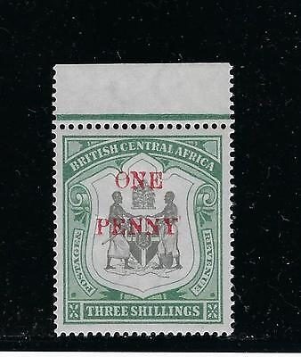British Central Africa Scott #57 1897 1P On 3Sh Mint Never Hinged
