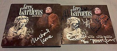 Grey Gardens Signed Cd Broadway Musical Poster Christine Ebersole War Paint