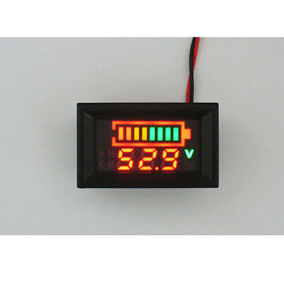 Acid Lead Lithium Battery Indicator Capacity Digital LED Tester Voltmeter