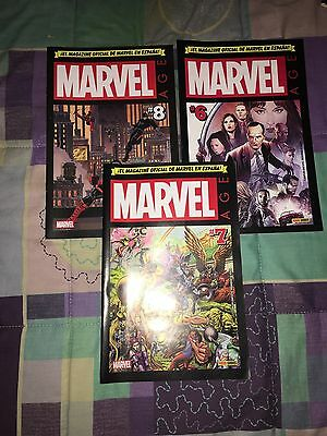 Marvel Age Lote De 3 Revistas