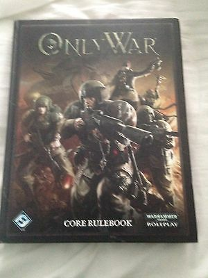40k only war rpg warhammer book